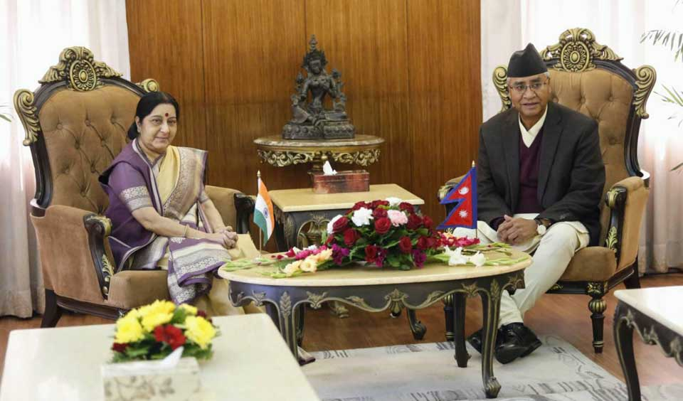 PM Deuba-Swaraj lunch meet