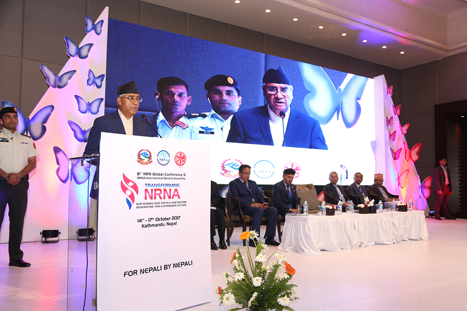 PM's assures NRNs for investment in Nepal