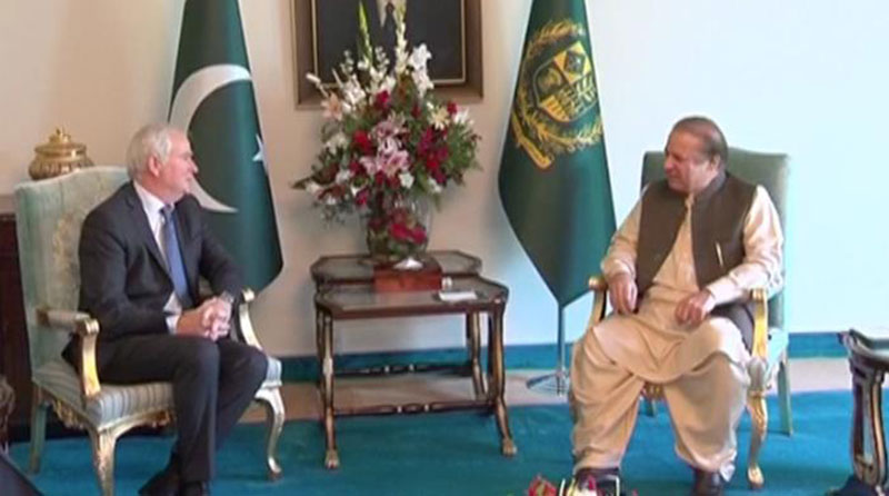 Pakistan pursues friendly relations with neighbors: PM Nawaz