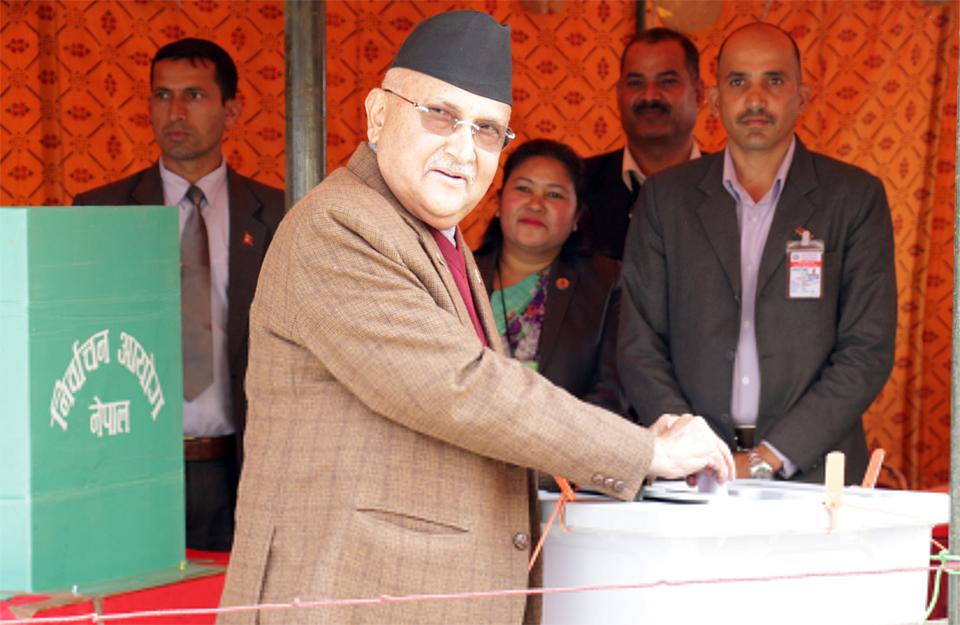 Bibeksheel Sajha, Naya Shakti abstain from presidential poll