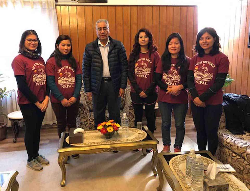 PM extends best wishes to Women Journalists Everest Expedition team