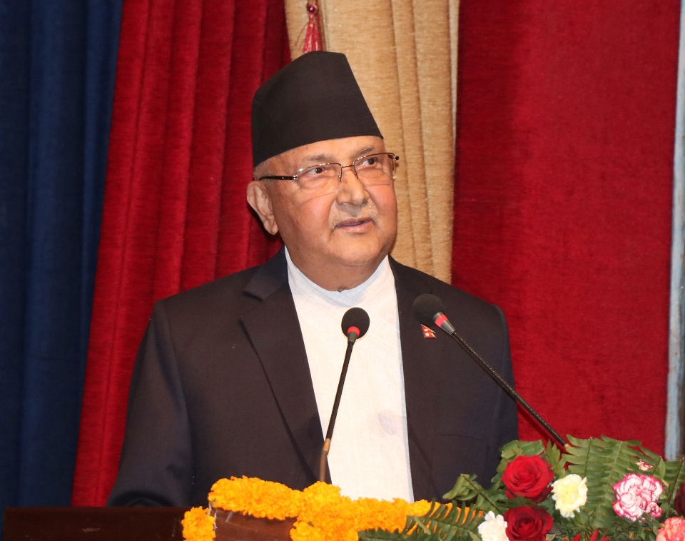 Improved ties with India and China conducive to Nepal's journey towards prosperity: PM (with photos)