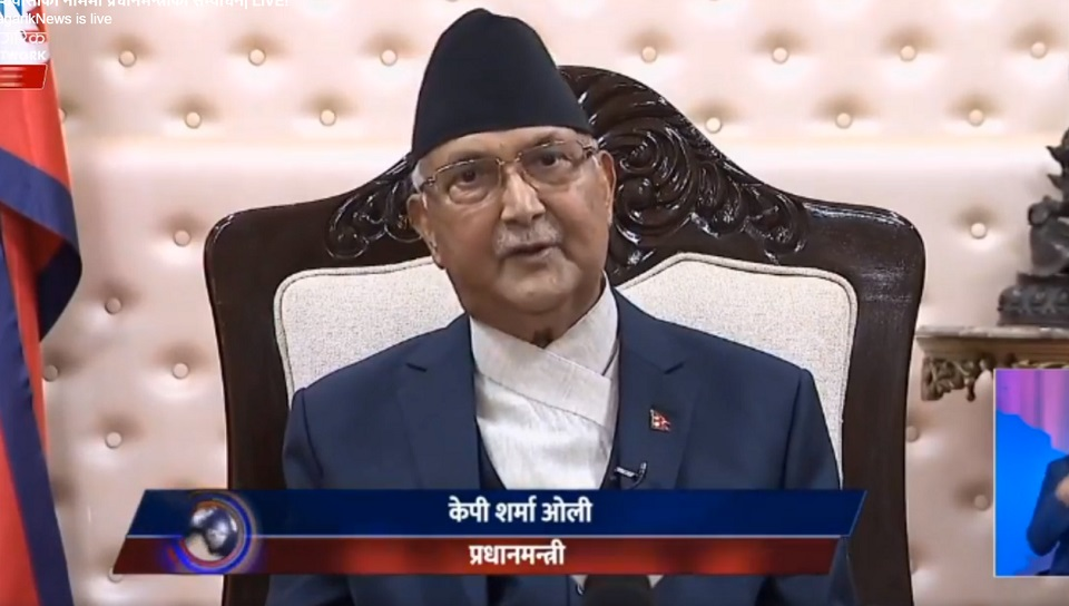 PM Oli to contribute his salary to corona fund unless country goes back to normal