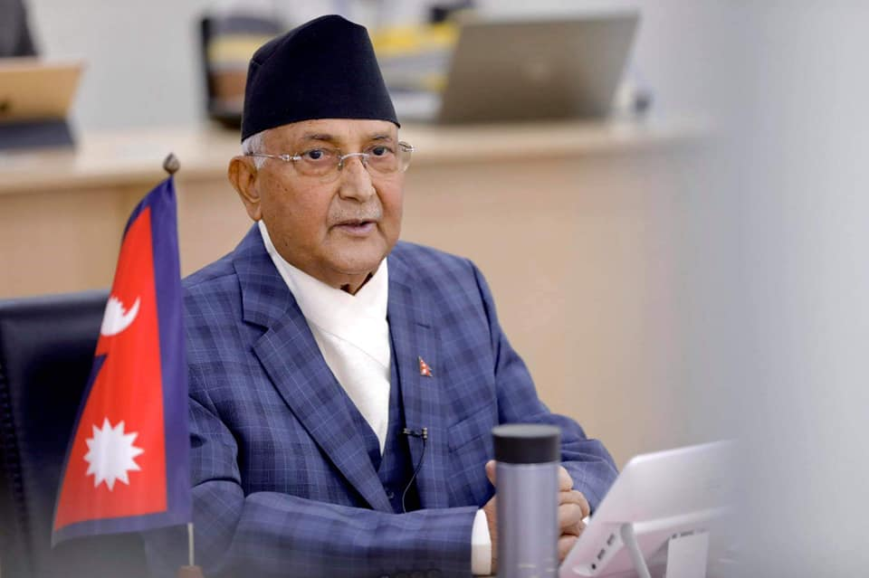 PM Oli, Speaker Sapkota, NA Chairman Timilsina extend Eid greetings