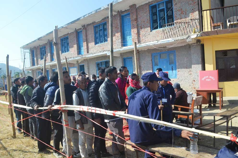 50 Percent votes cast in 32 districts till 2:00 PM