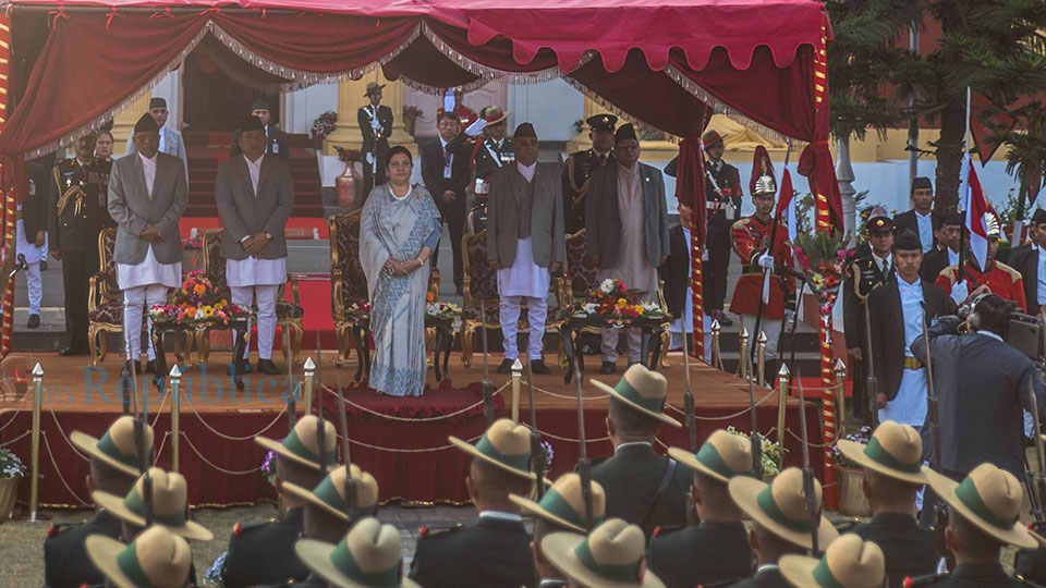 CJ Parajuli's removal raises question on legitimacy of Prez Bhandari's oath