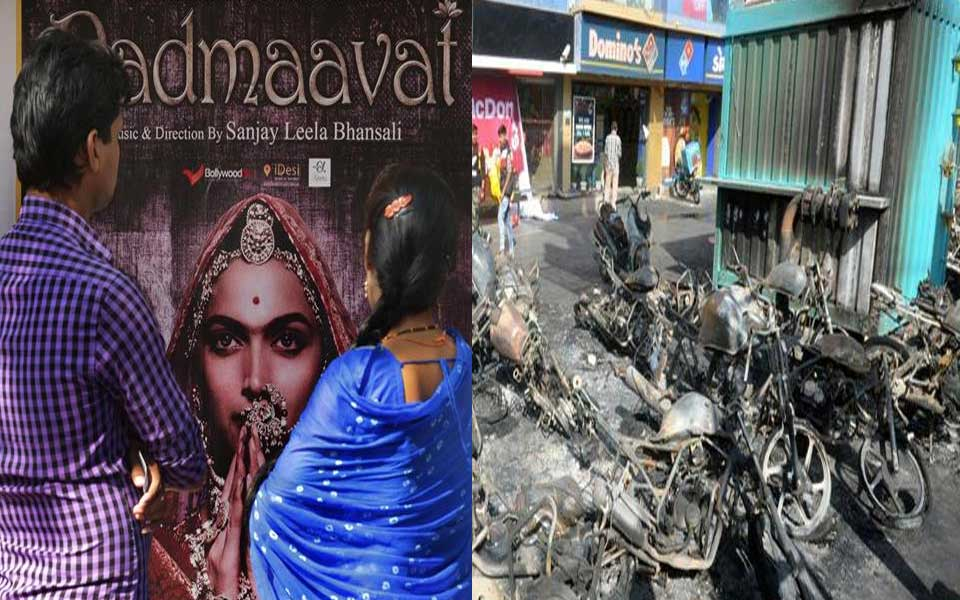 'Padmaavat' hits screen amid violence by Rajput outfits