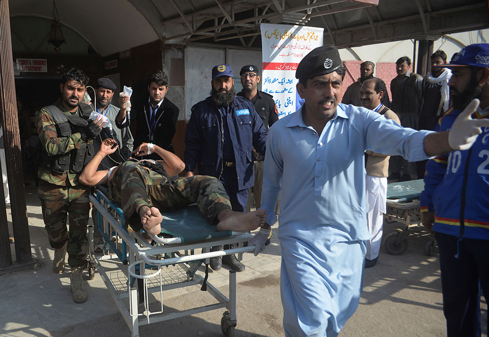 Gunmen attack agriculture institute in Pakistan, killing 12