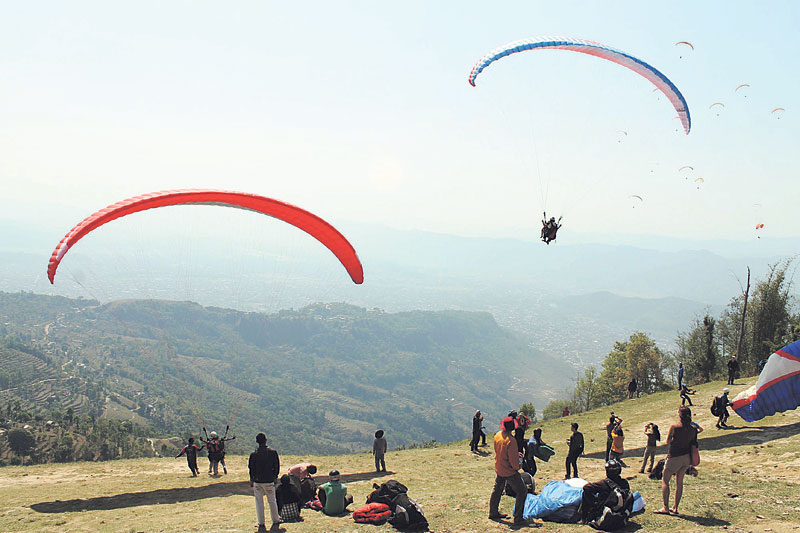 One flight a day rule enforced for paragliding pilots