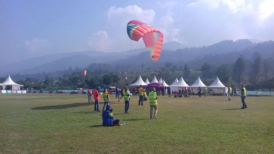 Paragliding brings silver medal to Nepal after 20 years