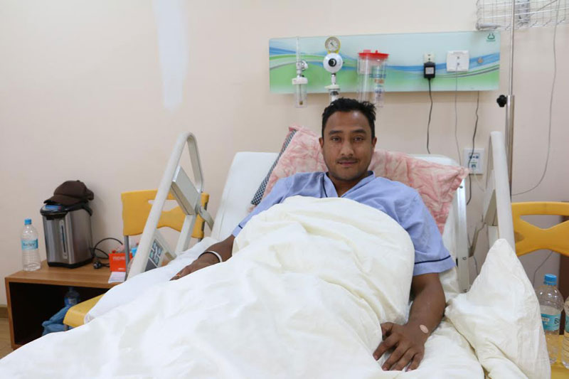Paras discharged after appendicitis surgery