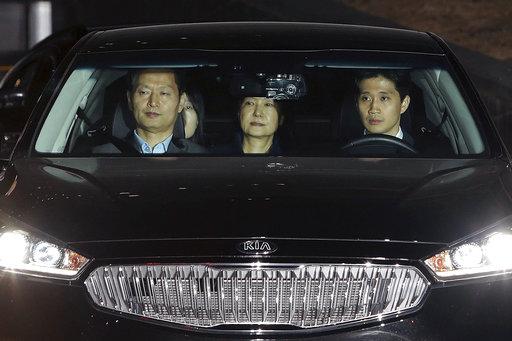 Deposed S. Korean president arrested, jailed after long saga