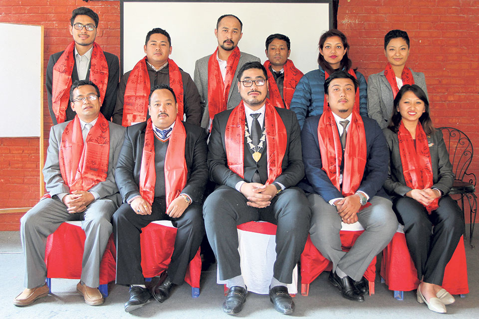 Patan Jaycees gets new president for 2018