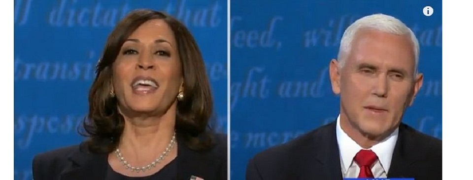 Quotes from policy-heavy debate between Kamala Harris, Mike Pence