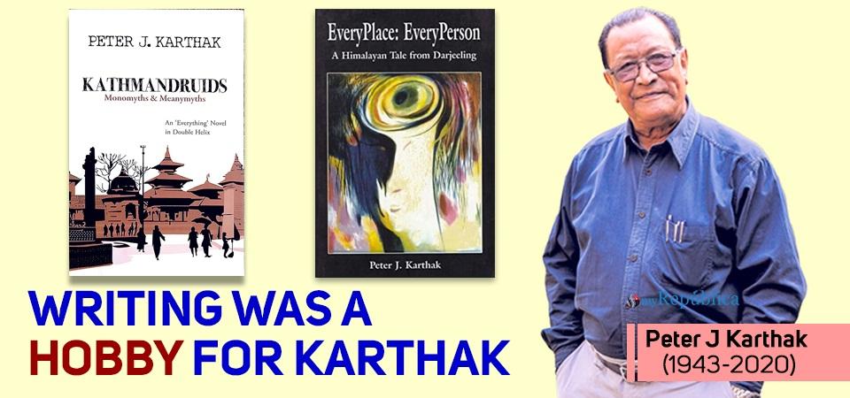 Peter J Karthak, author of Pratyek Thhaun: Pratyek Manchhe, passes away at 77