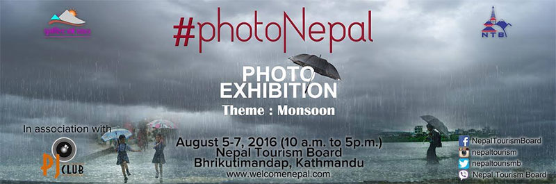 NTB showcasing monsoon photos on August 5-7