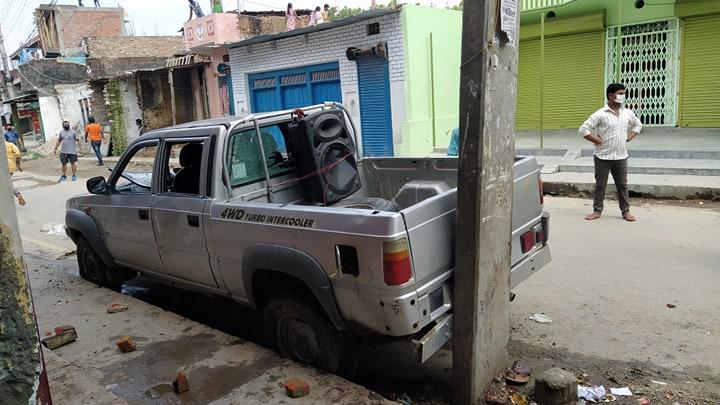 Locals, police clash at Nepalgunj's Tribeni Mode