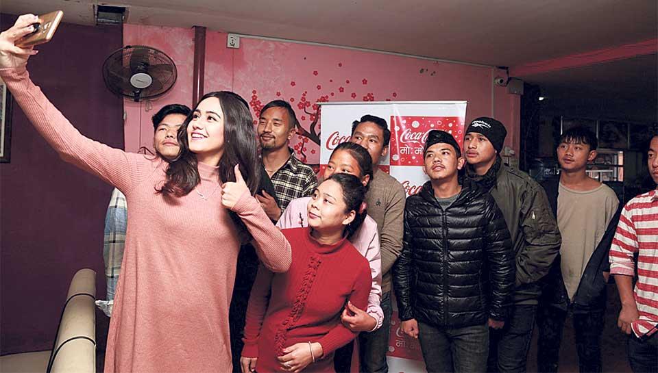 Swastima Khadka celebrates Coca-Cola Mo:Motsav