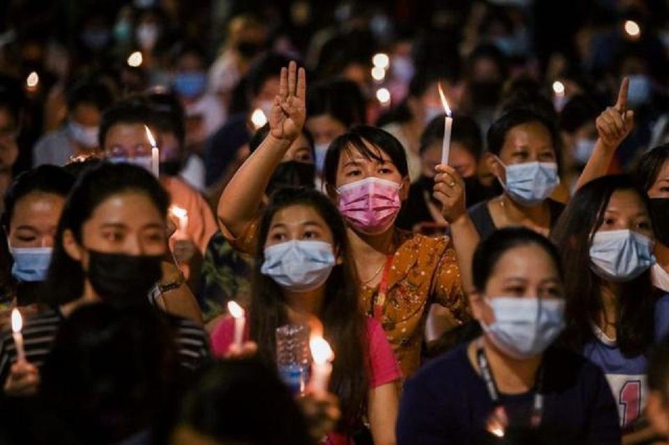 Funerals for slain Myanmar activists as violence escalates