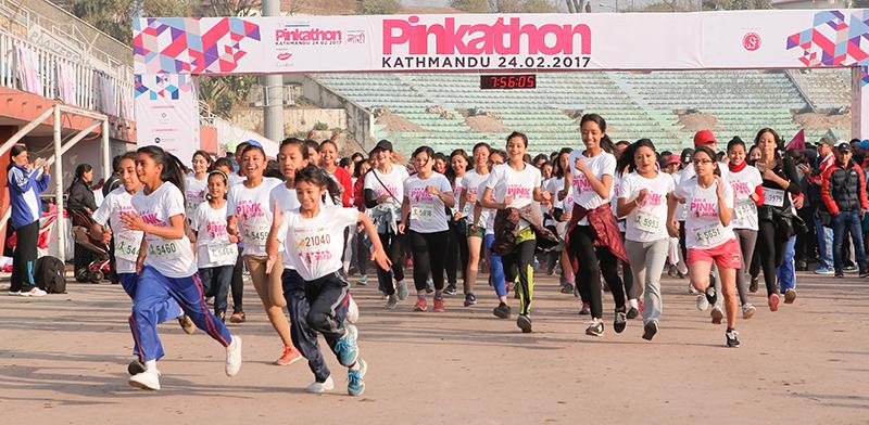 Kanchhi wins half marathon in record time