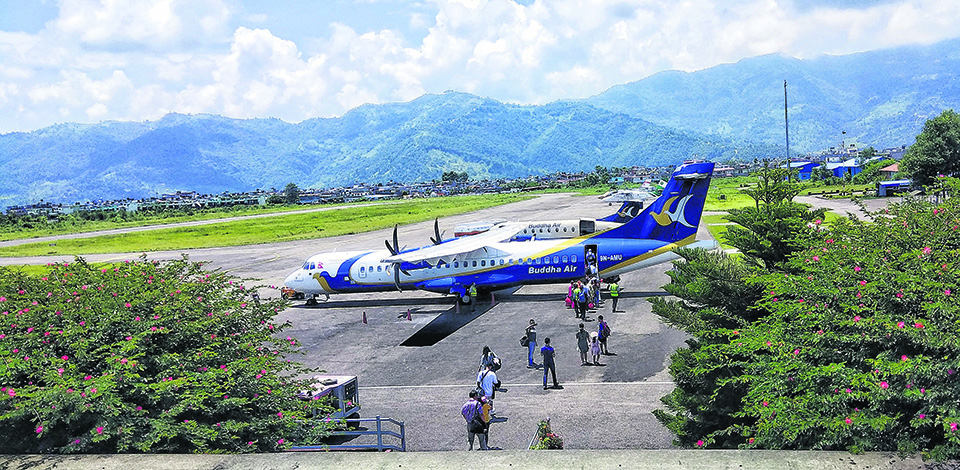 Pokhara Airport profits Rs 50m in FY2018/19