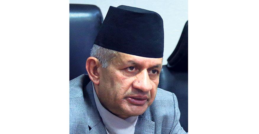Minister Gyawali leaves for Bangladesh