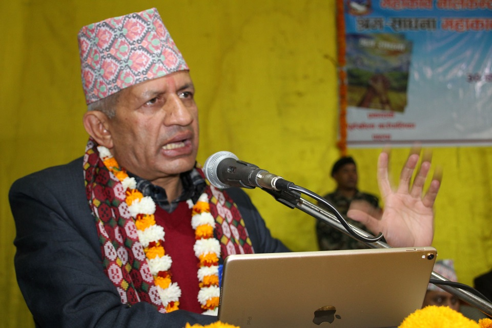 Nepal is all committed to safeguarding its land: Minister Gyawali