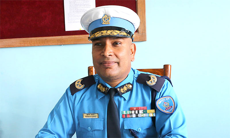 Govt promotes DIG Aryal to Nepal Police IGP