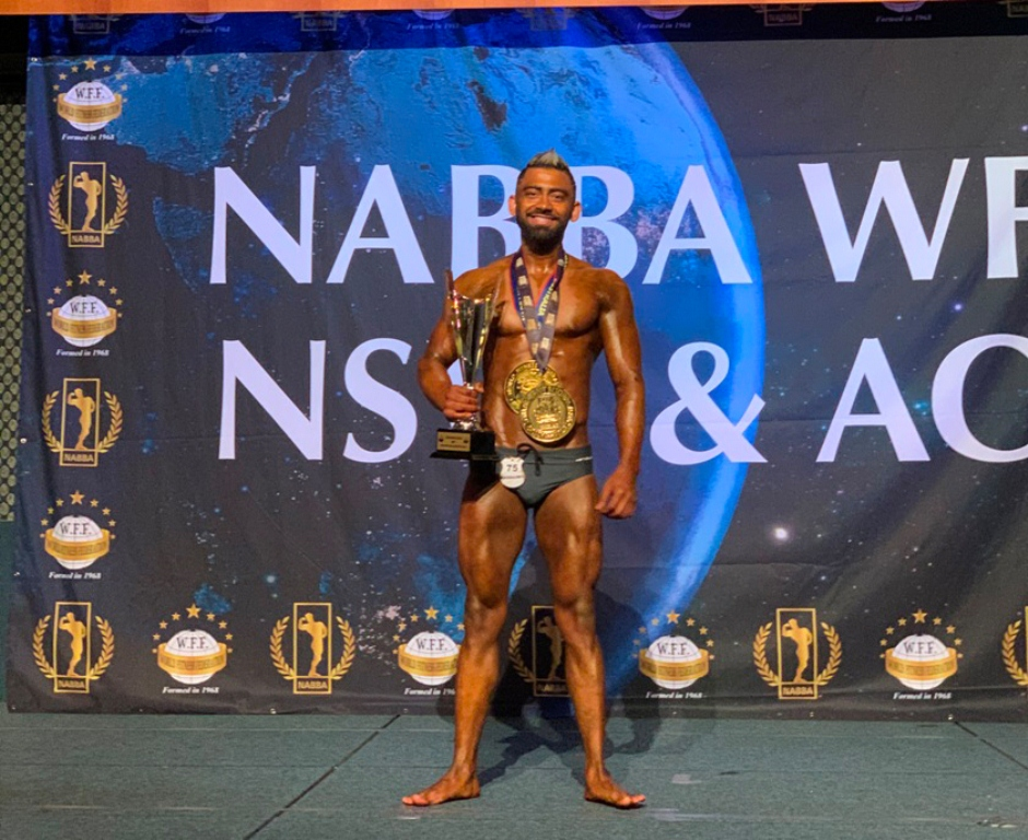 Nepali bodybuilder Bhatta becomes 'Champion of Champions' in Australia