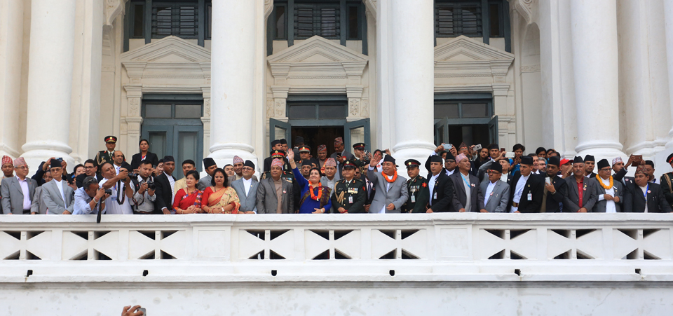Indra Jatra observed with fanfare at Basantapur Durbar Square in capital (with photos)