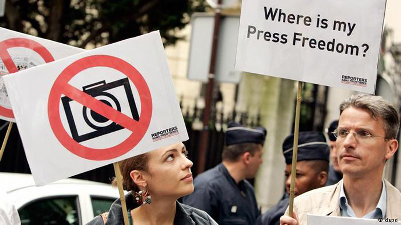 Infographics: Where media freedom levels are lowest