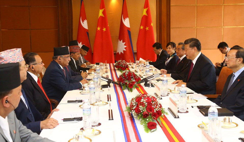 NCP leaders call on Chinese President Xi Jinping