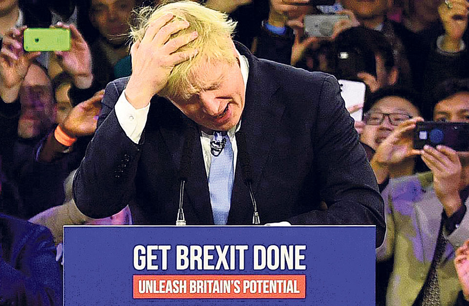 Johnson's Win is a loss for British power