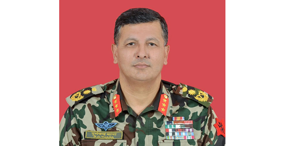 Army Chief Thapa tests negative for COVID-19