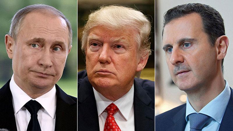 Trump in Putin's Syria