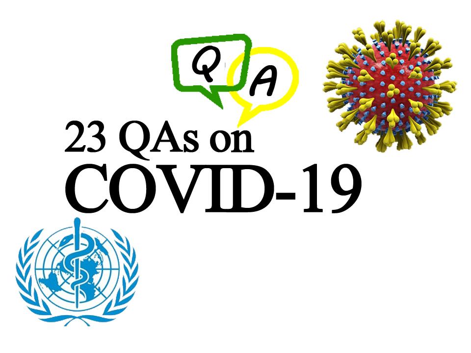 23 QAs on COVID-19