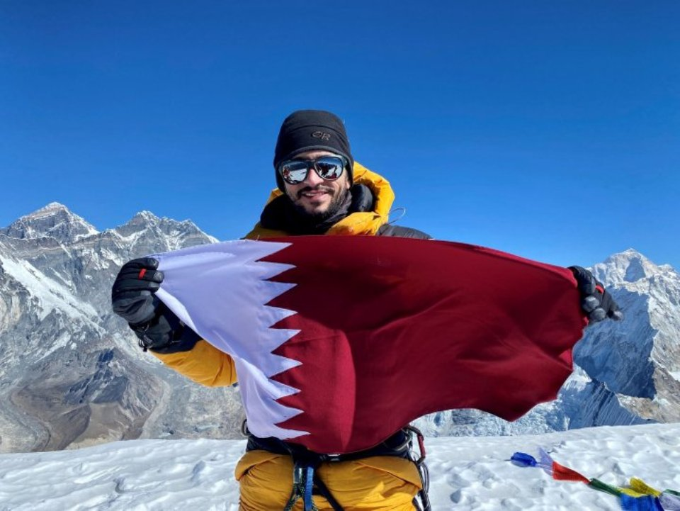 Qatari adventurer Fahad Badar climbs Ama Dablam summit