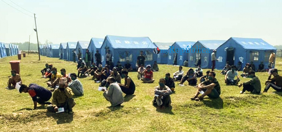 181 people from Nepalgunj's quarantine sent home after 21 days