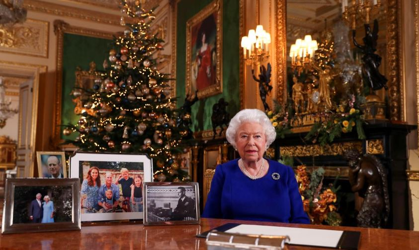 UK Queen stresses reconciliation after bruising Brexit year