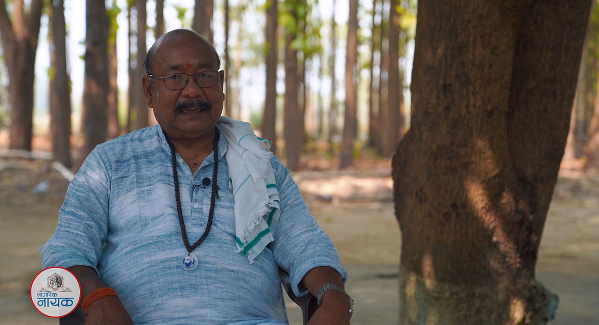 Rabindra Lal Chaudhary: An ardent crusader against blindness