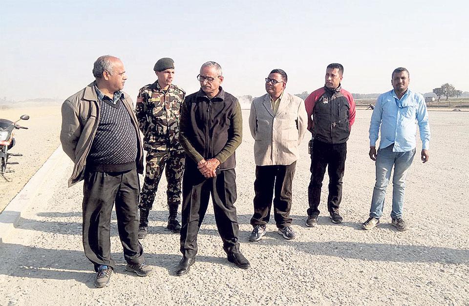 Rajbiraj airport will resume operation in April: Minister