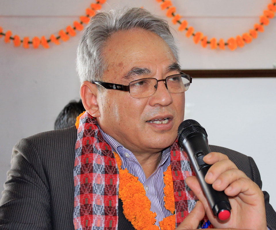 Home Minister gives words to address demands of Dr KC, Gangamaya