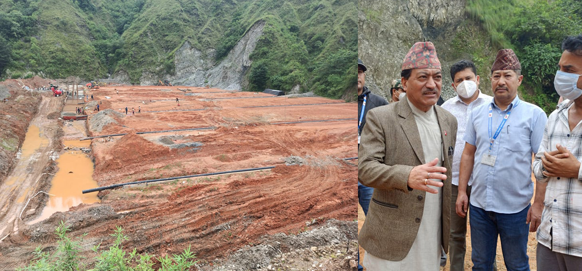 'Construction of Banchare Danda landfill site to complete before Dashain'
