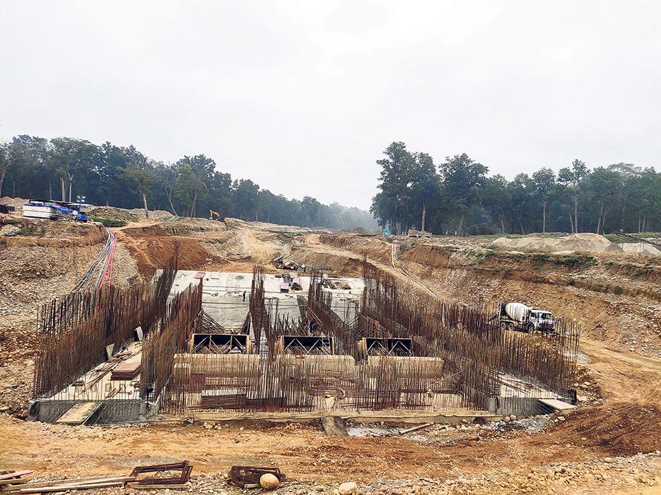 Construction of powerhouse gains momentum