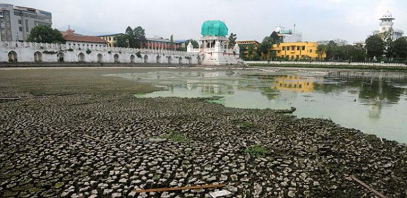 Reconstruction of Rani Pokhari to further delay