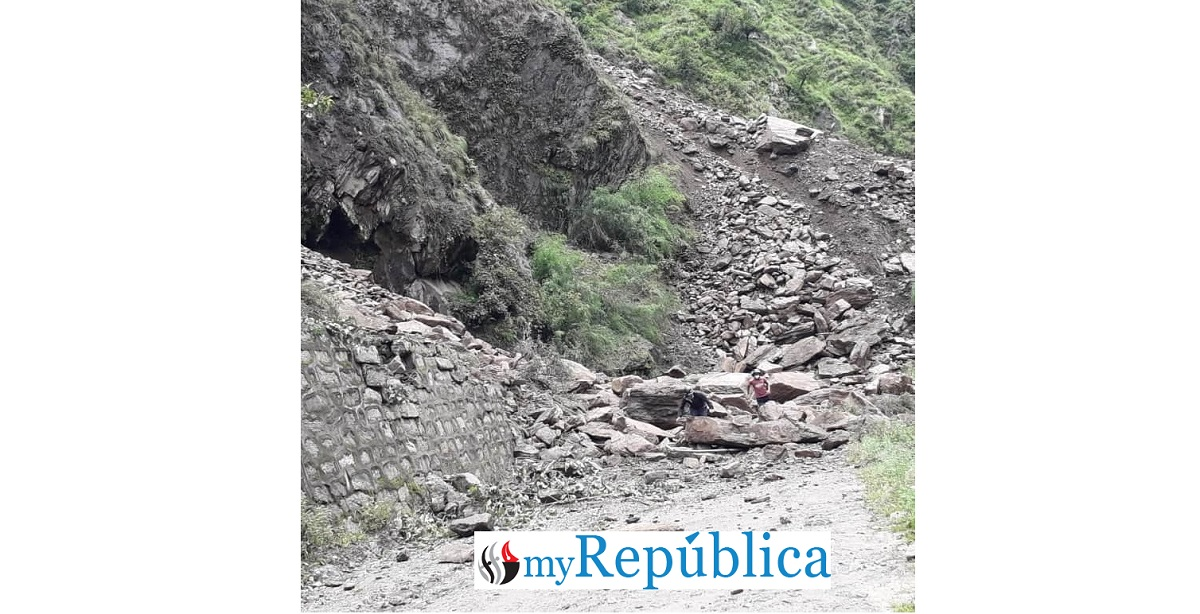 Road to Rasuwagadhi border point disrupted for last three days