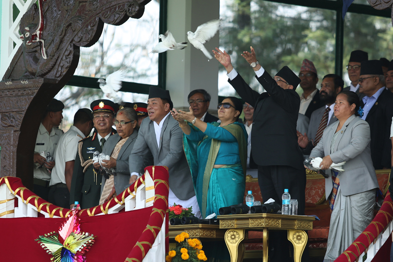 President attends Republic Day program