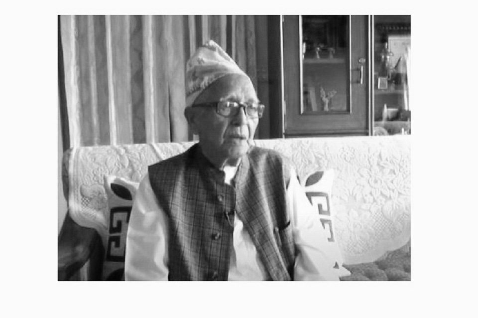 Rewati Raman Khanal, former chief secretary of Narayanhiti Palace, passes away