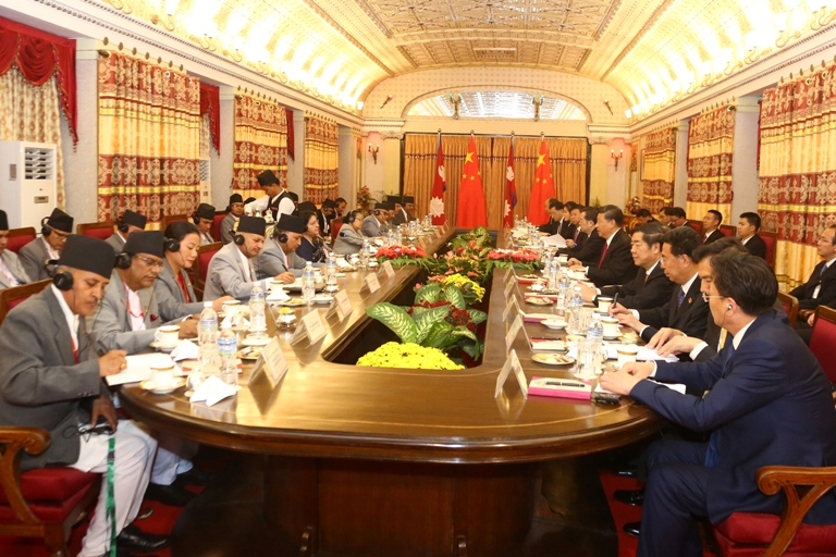 China to assist Nepal in transforming it from landlocked to land-linked : Chinese President