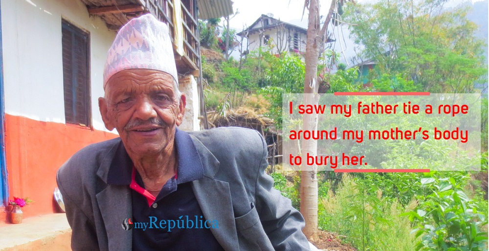 He saw the 1943 plague wipe out his family and village in Rolpa